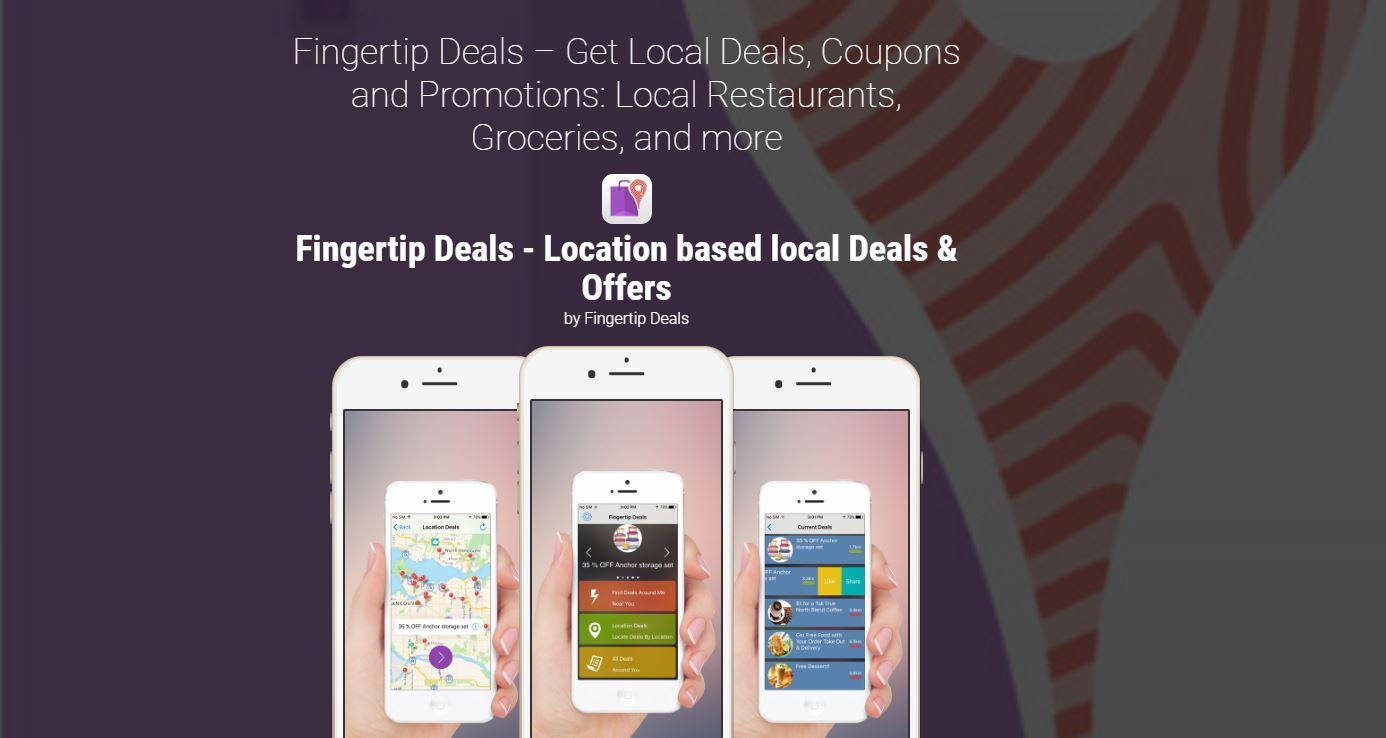 fingertip deals website