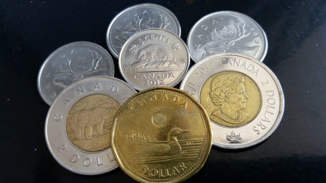Canadian coins