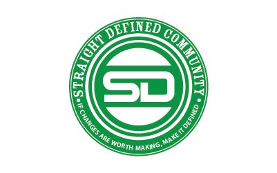 Straight Defined logo