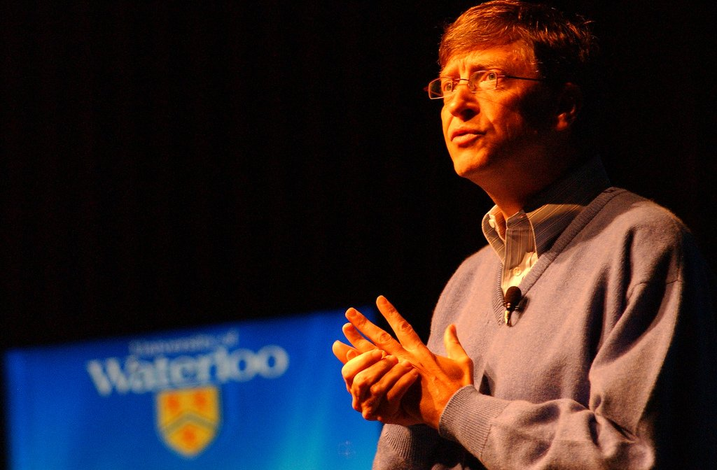 Bill Gates at University of Waterloo event