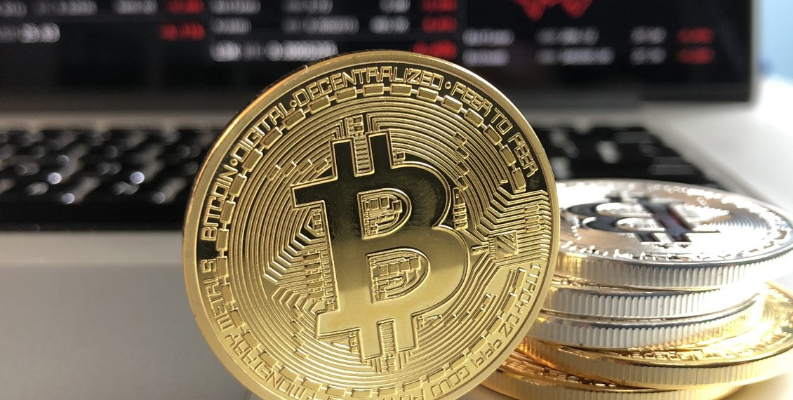 cryptocurrency image of coins