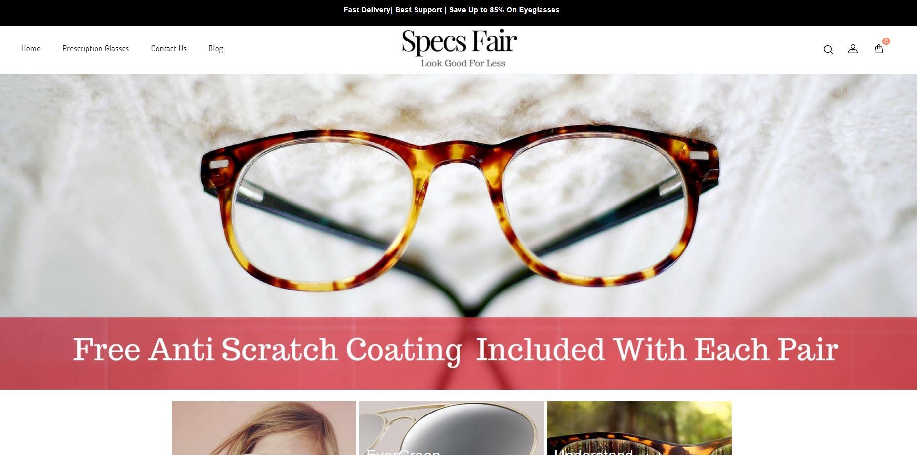 specsfair.com website