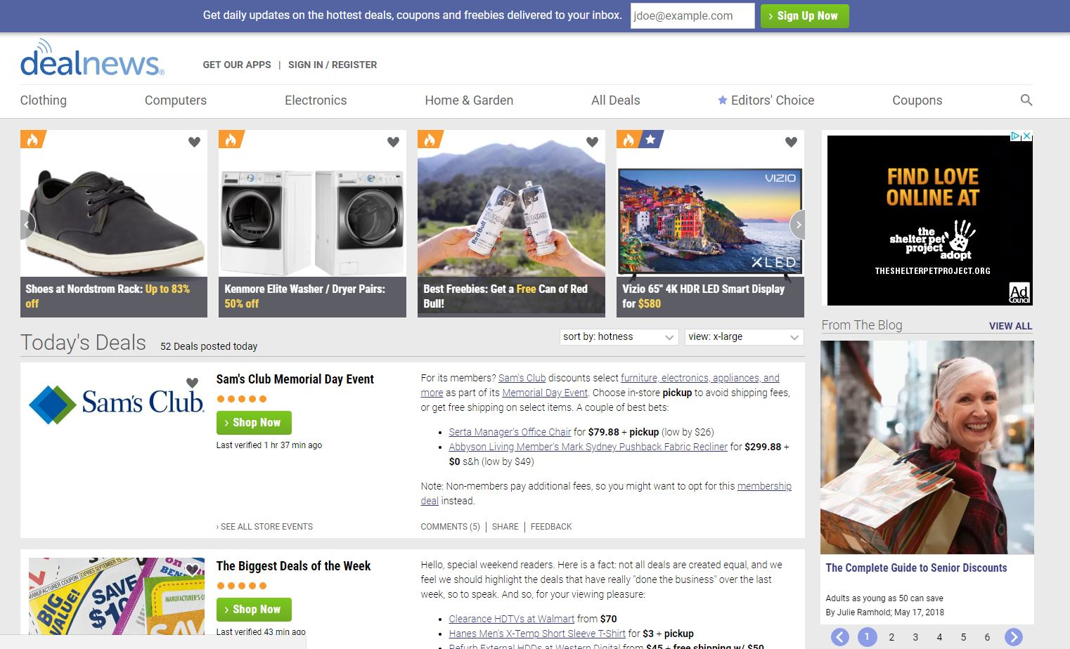 deal websites