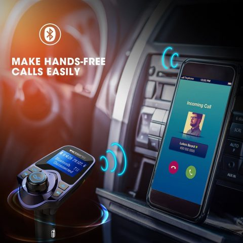 car Bluetooth transmitter ad