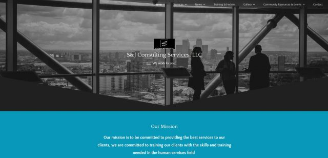 S & J Consulting Services website