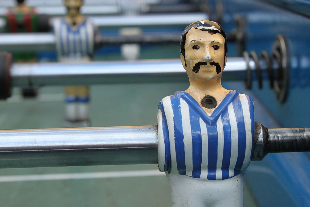 Fussball table player