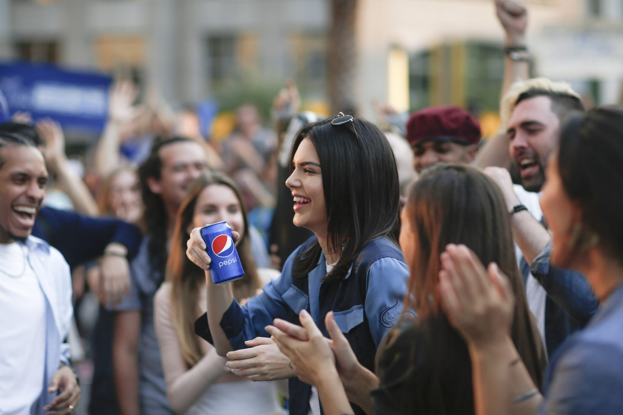 Pepsi advert with Kendall Jenner