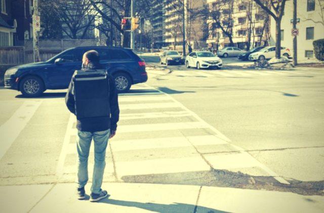 Uber Eats Walker in Toronto