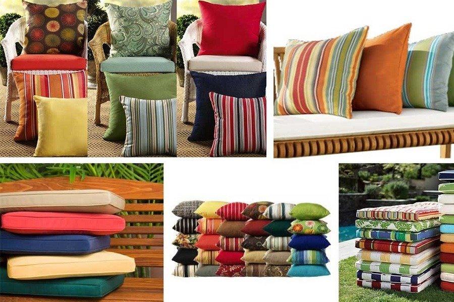various seat cushions